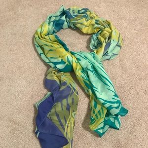 BDG Thin Patterned Scarf
